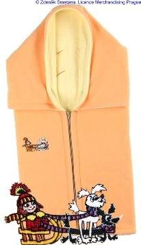 Autobag dvojitý fleece oranžovo-žlutý s Malou Èarodìjnicí