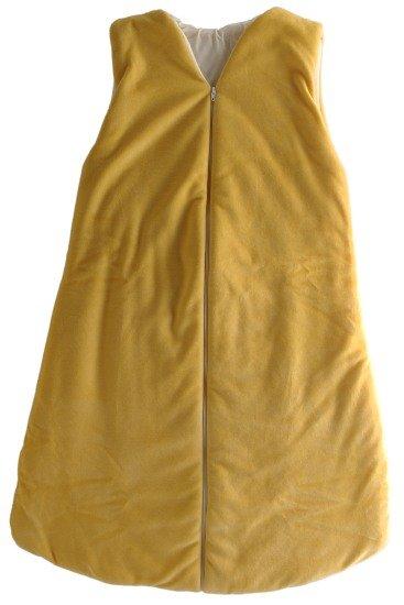 Spací pytel žlutý 120 cm