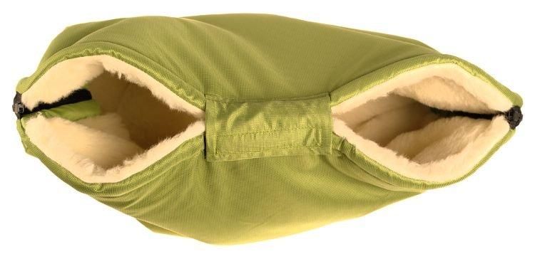 Merino rukávník zelený z ovèí vlny