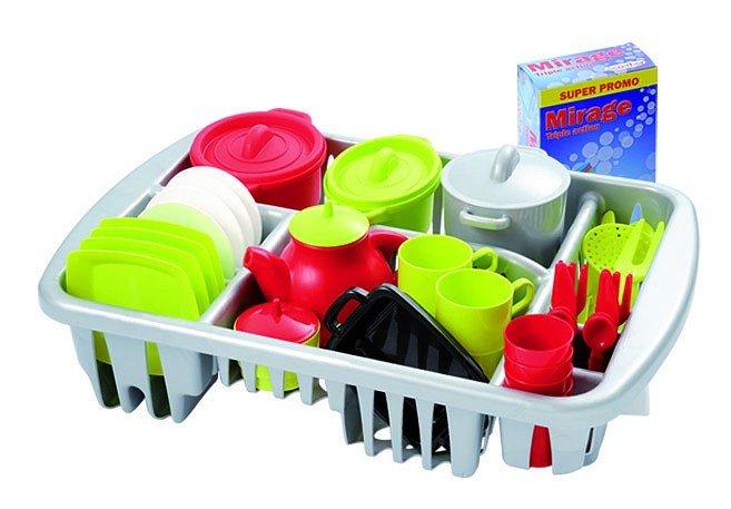 Velká sada nádobí s odkapávaèem