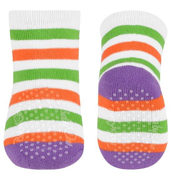 Froté ponožky s protiskluzem 6+