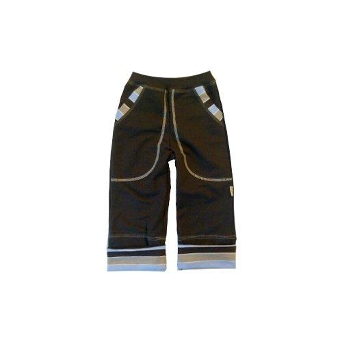 Rostoucí ohrnovací kalhoty Blue 128