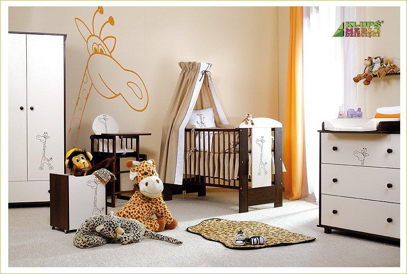 Dìtský pokoj SAFARI Žirafa