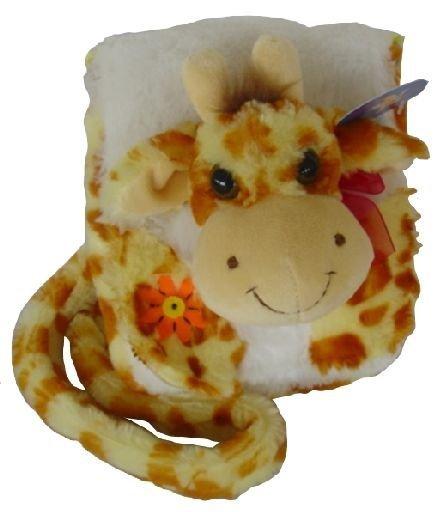 Plyšová žirafa kabelka suchý zip