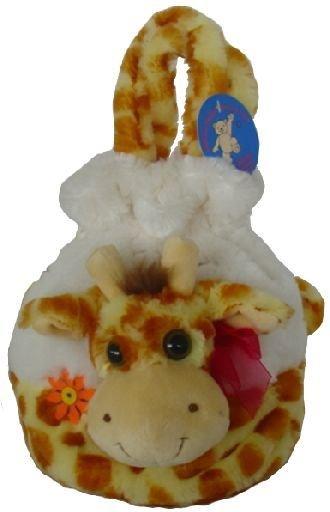 Plyšová žirafa mìšec