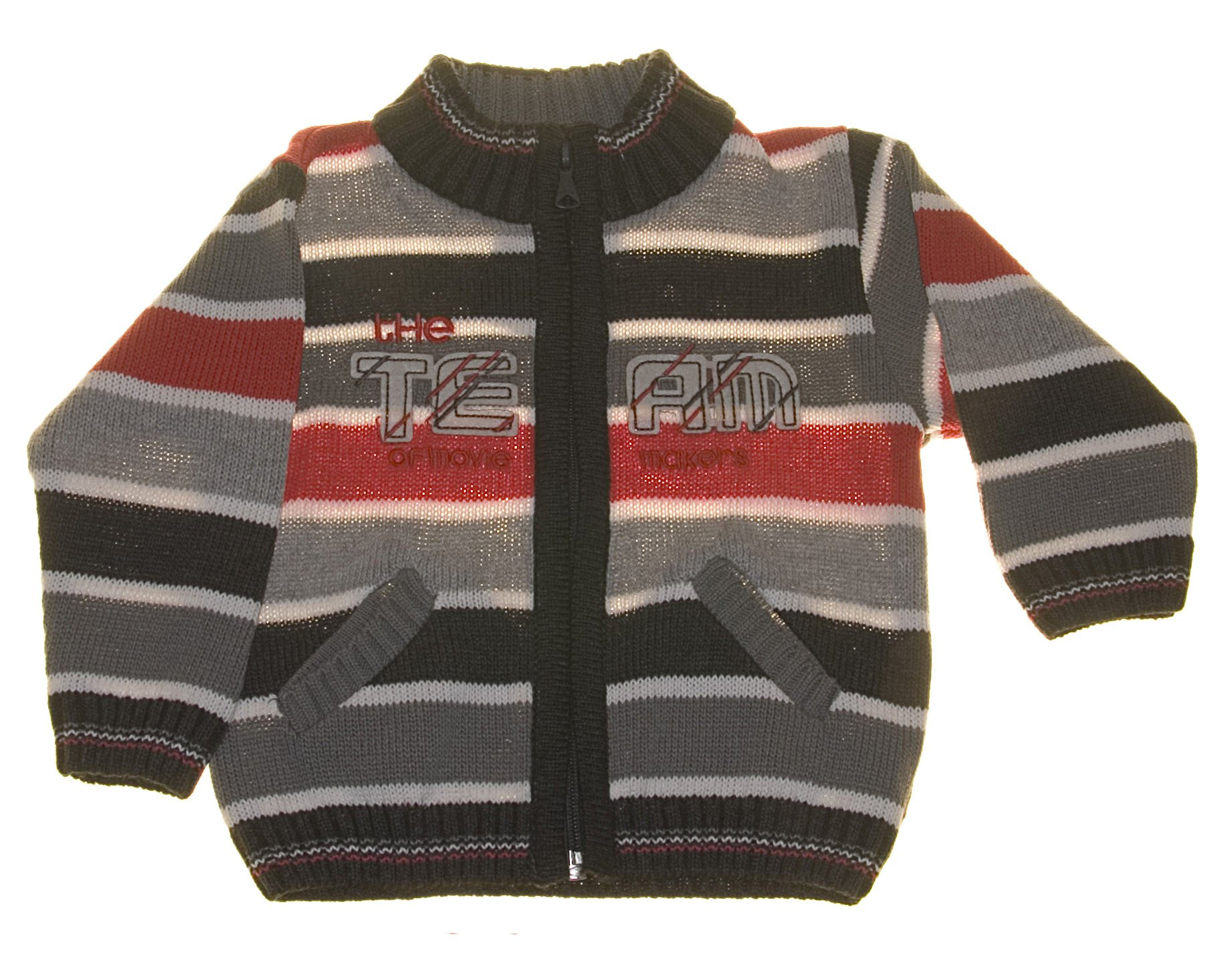 Chlapecký pletený svetr èervený NM-383