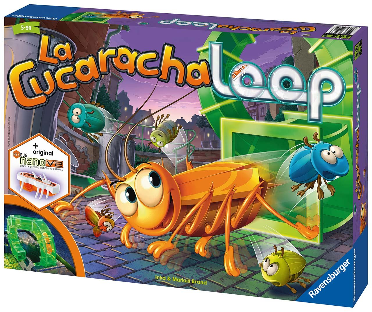 La Cucaracha Loop Hra - zvìtšit obrázek