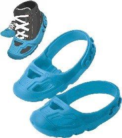 BIG Ochranné dìtské návleky na botièky vel.21-27 protiskluzové modré 1 pár - zvìtšit obrázek