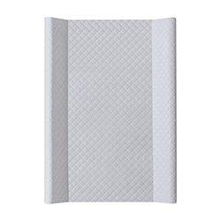 Pøebalovací podložka se zvednutým okrajem tvrdá CARO premium line šedá 50x70 cm - zvìtšit obrázek
