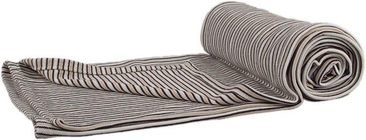 Deka bambus hnìdý proužek 100 x 140 cm - zvìtšit obrázek