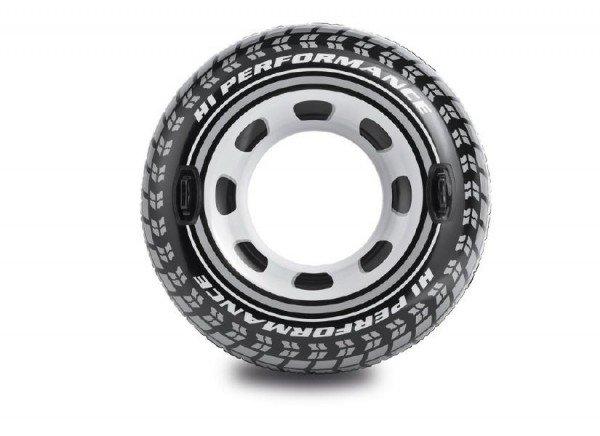 INTEX Kruh dìtský nafukovací 114cm pneumatika plavací kolo s úchyty do vody 56268 - zvìtšit obrázek