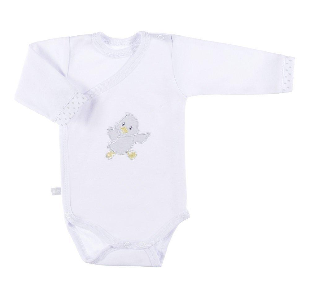 Body pro pøedèasnì narozené dìti Newborn dl.rukáv bílá vel.50 - zvìtšit obrázek