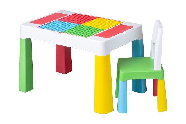 Dìtská sada stoleèek a židlièka Multifun multicolor - zvìtšit obrázek
