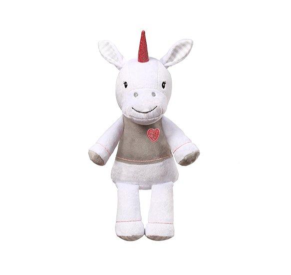 Plyšová hraèka jednorožec Lucky velký 60 cm bílá - zvìtšit obrázek