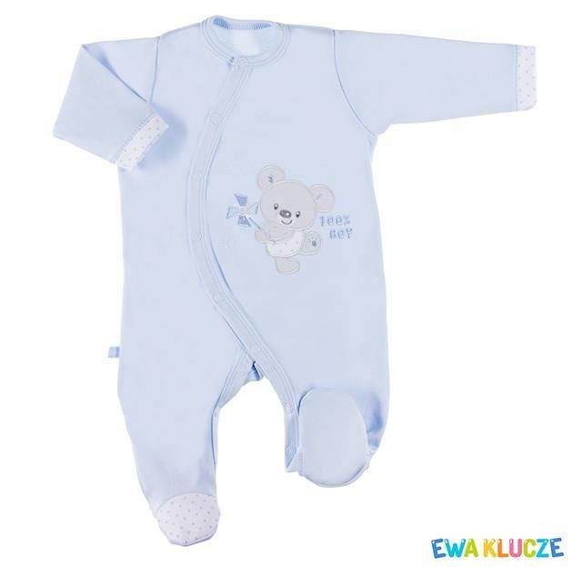 Bavlnìný overal Newborn modrý vel.62 - zvìtšit obrázek