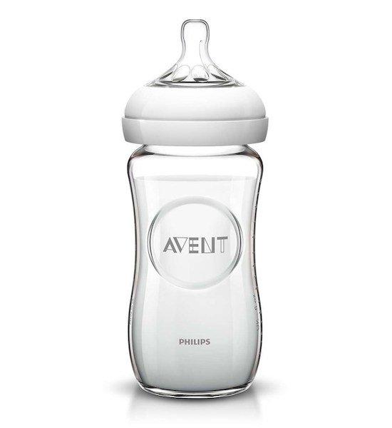 Kojenecká láhev sklenìná Natural glass 240 ml - zvìtšit obrázek