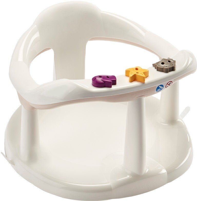 Sedátko do vany Aquababy bílo-béžová - zvìtšit obrázek
