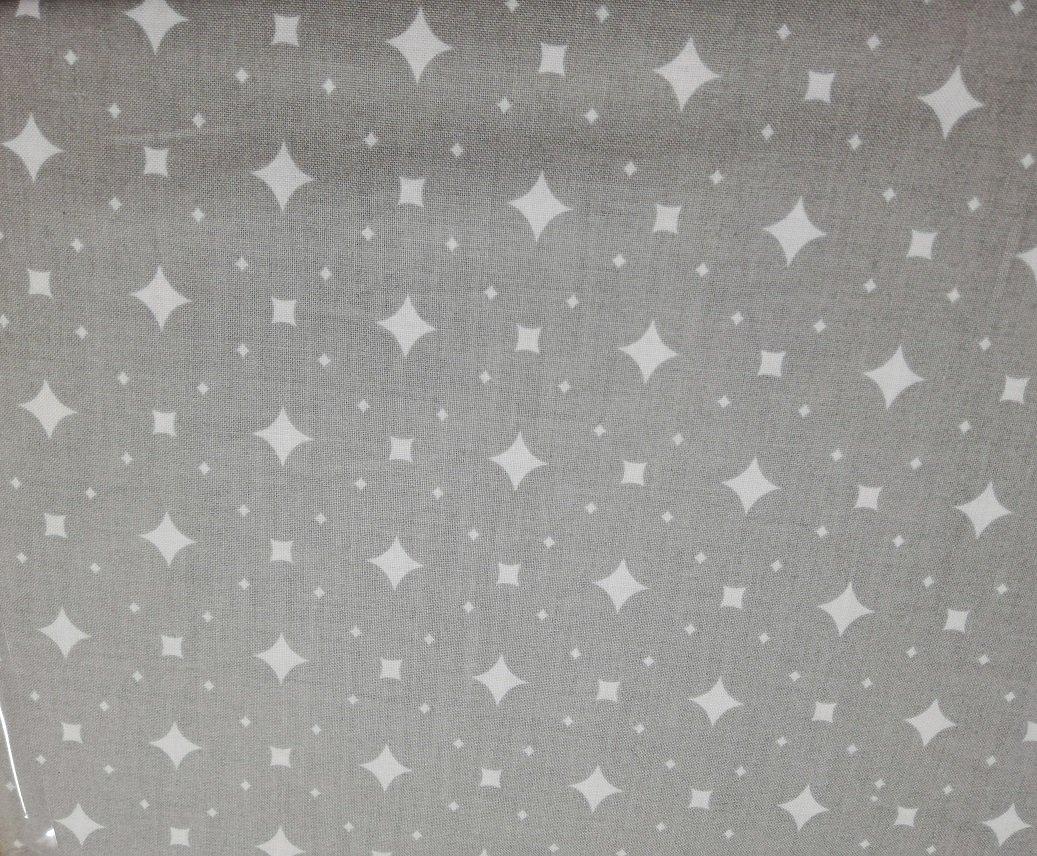 Bavlnìné prostìradlo 120x60 cm bílé s šedými káro kostièkami - zvìtšit obrázek