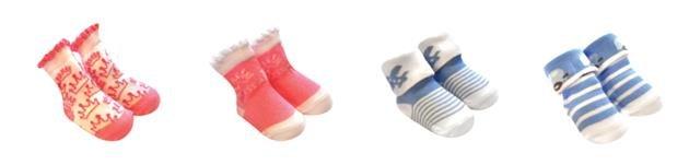 Bavlnìné ponožky kojenecké BS-6 - zvìtšit obrázek