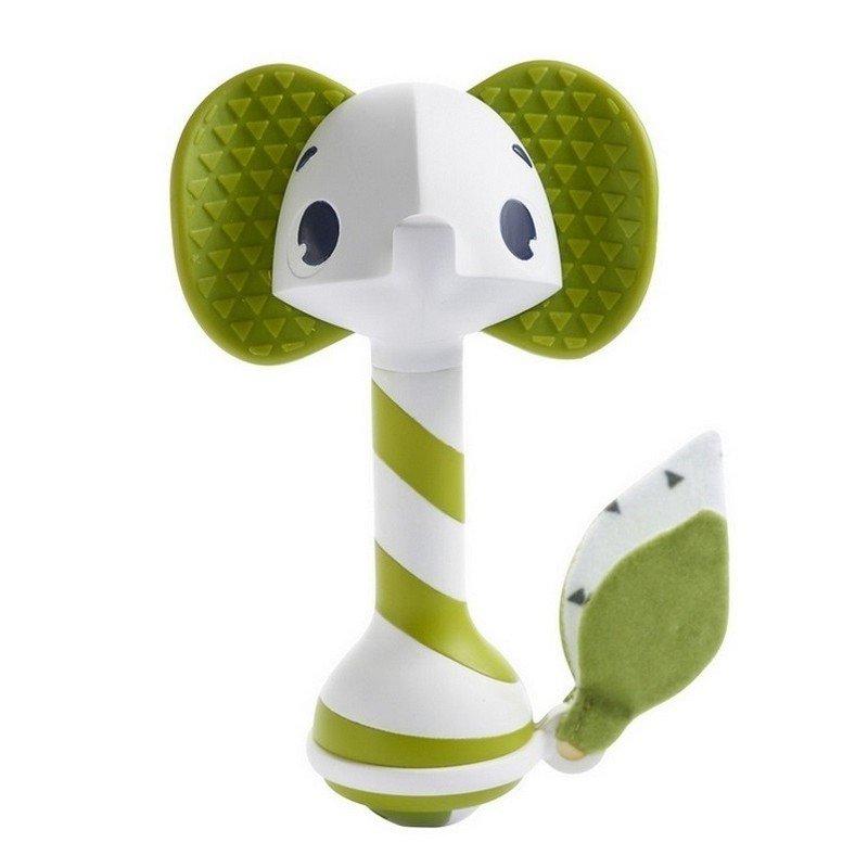 Chrastítko a kousátko smart slon Samuel 3+ zelená - zvìtšit obrázek