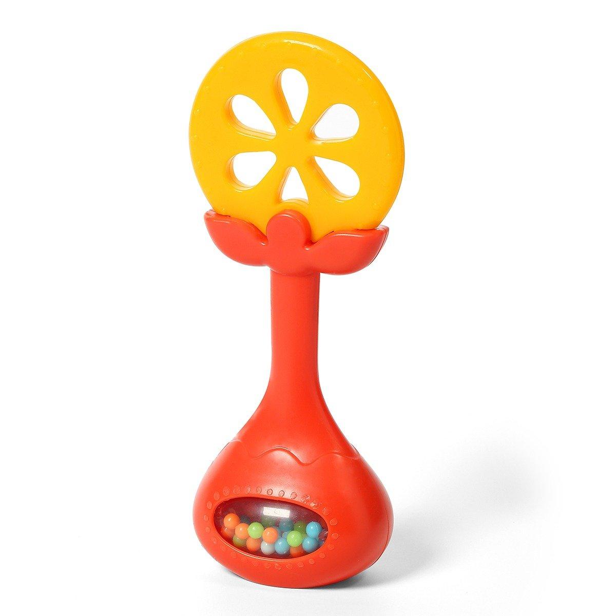 Kousátko s chrastítkem JUICY pomeranè - zvìtšit obrázek
