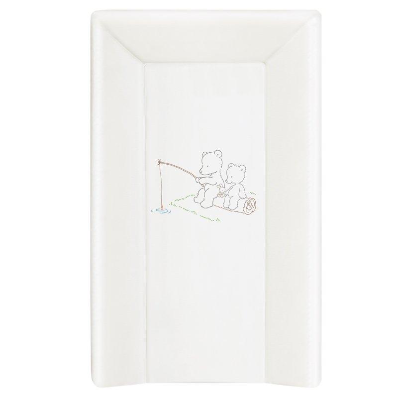 Pøebalovací podložka tvrdá 3 hran. 70x50 cm Papa Bear bílá - zvìtšit obrázek