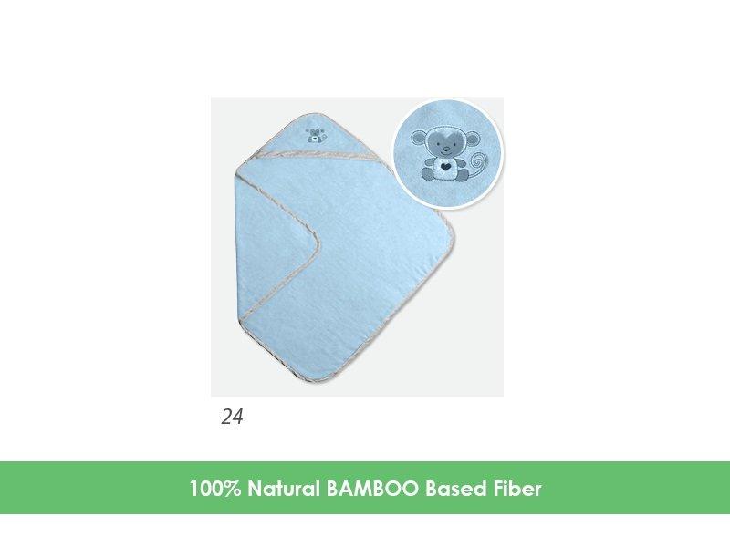 Osuška s kapucí bambusová 100x100cm - zvìtšit obrázek