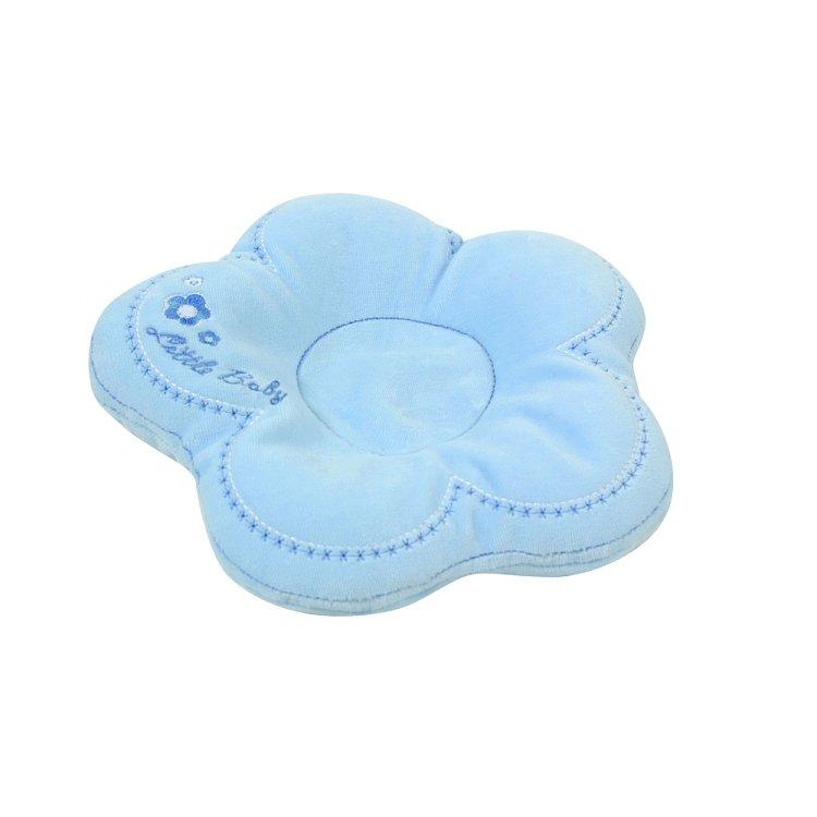 Polštáø pro kojence FLOR modrá - zvìtšit obrázek