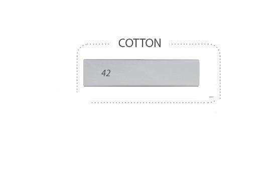 Prostìradlo nepromokavé bavlna 120x60 cm šedá-popel - zvìtšit obrázek