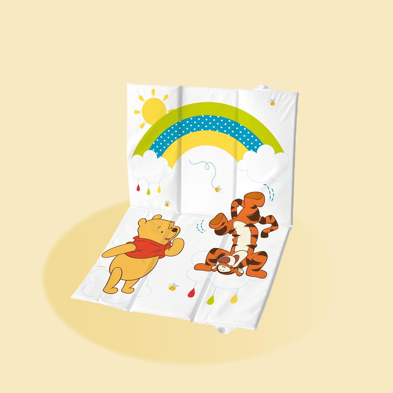 Pøebalovací podložka cestovní skládací mìkká medvídek Pú 58x40 cm - zvìtšit obrázek
