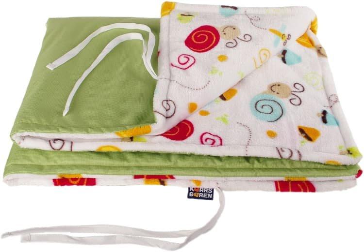 Zelená nepadací deka šneci - zvìtšit obrázek