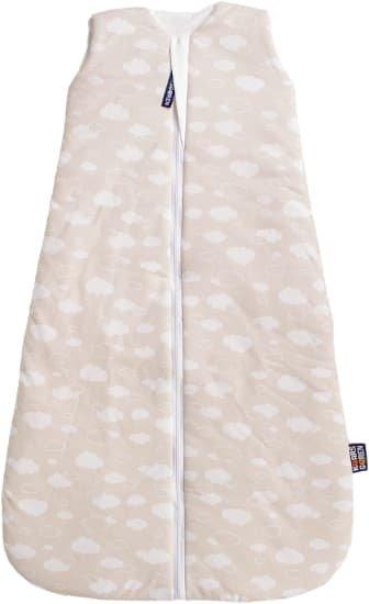 Letní spací pytel 70 cm bambus béžový s obláèky - zvìtšit obrázek