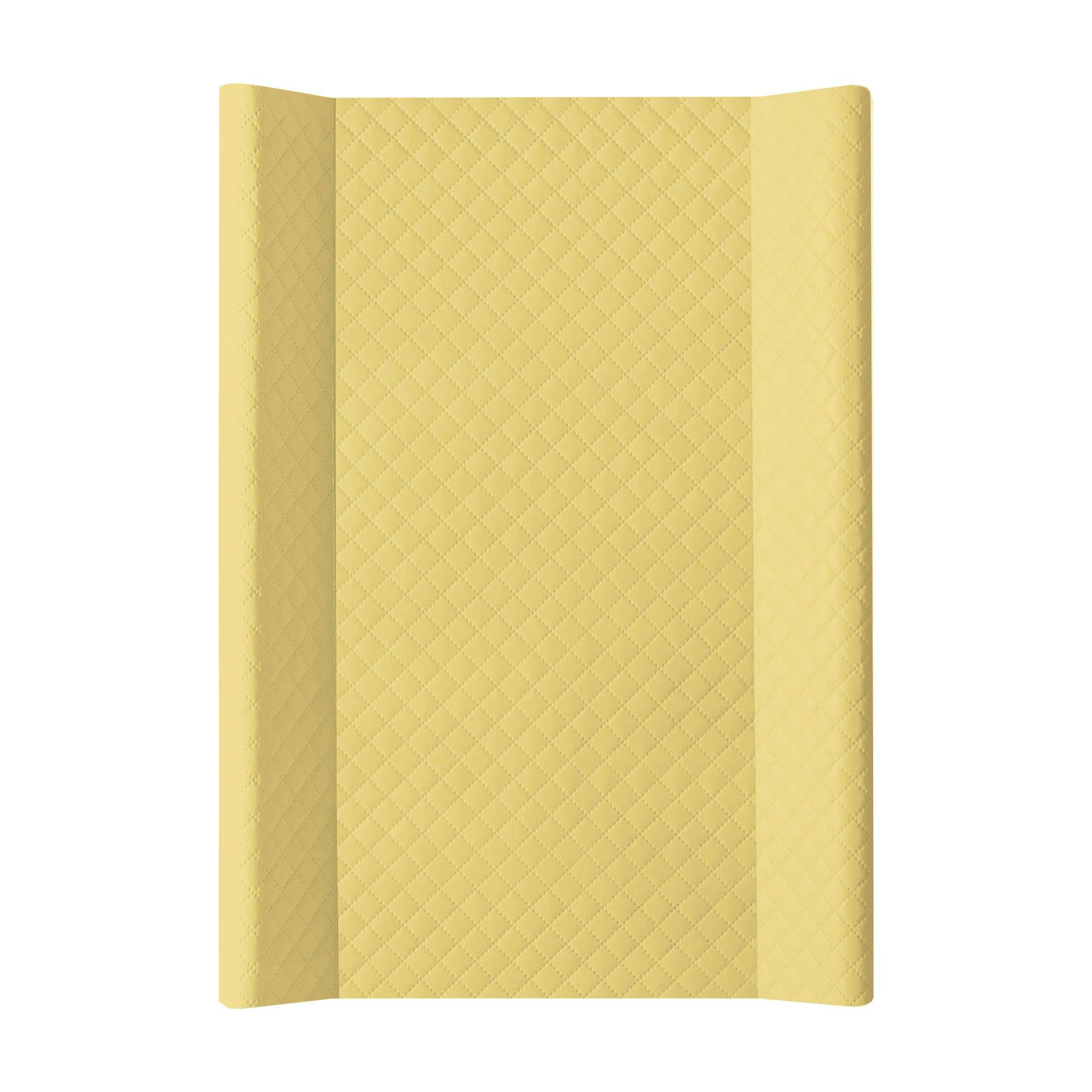 Pøebalovací podložka mìkká se zvednutými okraji Caro 50x70cm žlutá - zvìtšit obrázek