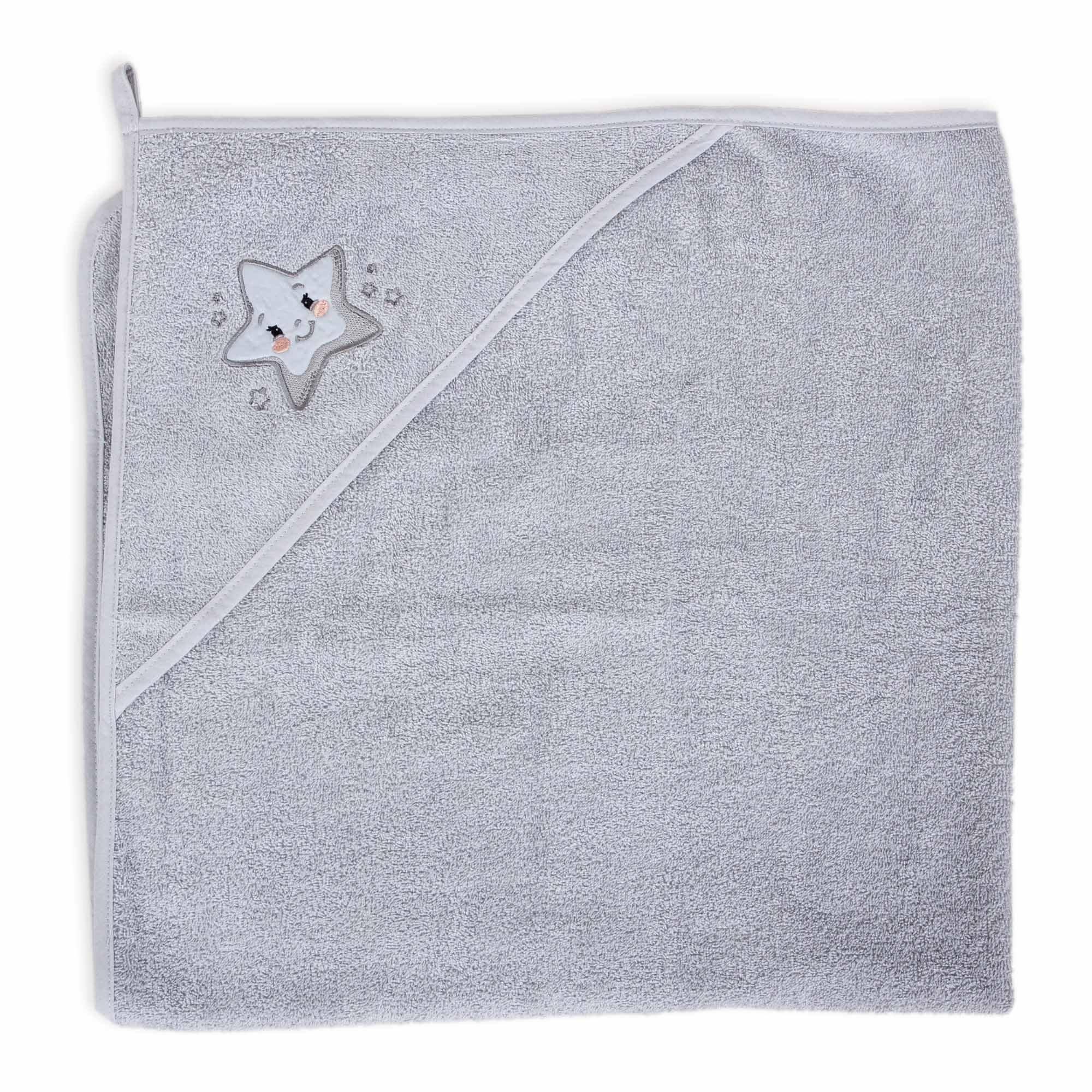Osuška s kapucí Star 100x100 cm - zvìtšit obrázek