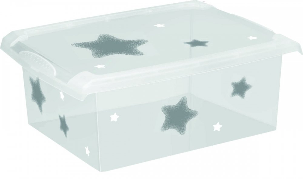 Úložný box na hraèky Fashion-Box Stars 10 litrù - zvìtšit obrázek