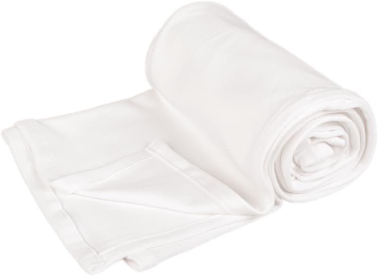 Letní deka 100x150cm z biobavlny bílá - zvìtšit obrázek