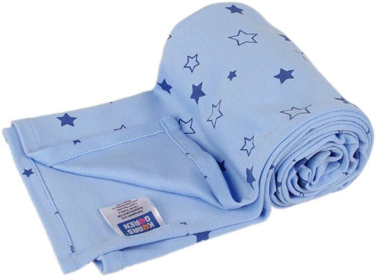 Letní deka 150x200cm modrá hvìzdièky - zvìtšit obrázek