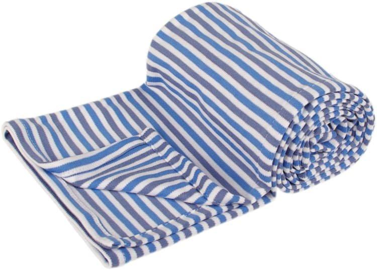 Letní deka 150x200cm modré proužky - zvìtšit obrázek