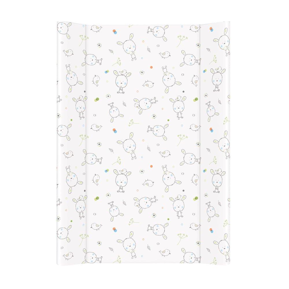 Pøebalovací podložka mìkká se zvednutými okraji 70x50 cm dream bílá - zvìtšit obrázek