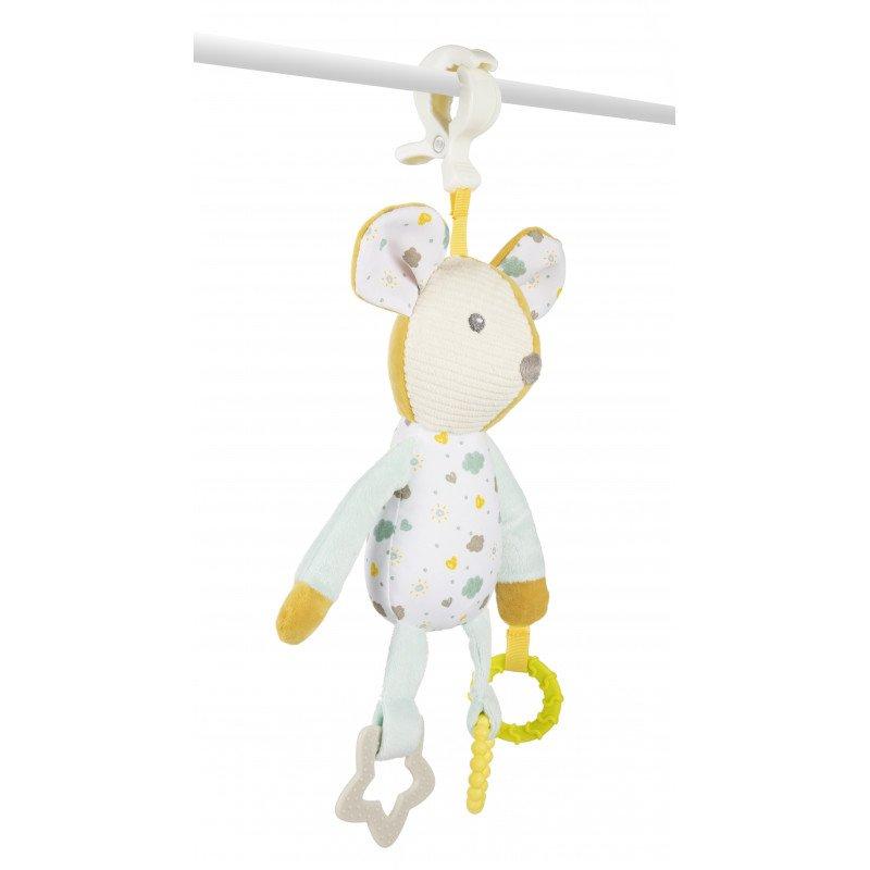 Plyšová hraèka s kousátky Myška - zvìtšit obrázek