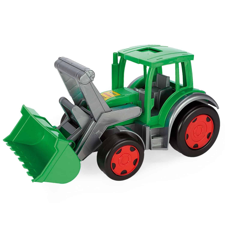 Traktor s nakladaèem Gigant - zvìtšit obrázek