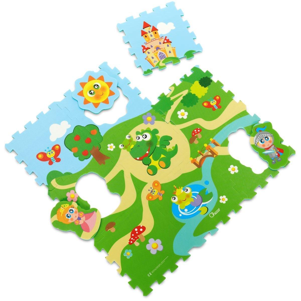 Puzzle pìnové hrad 30x30 cm 9 ks - zvìtšit obrázek