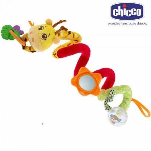 Spirálka na postýlku koèárek žirafa - zvìtšit obrázek