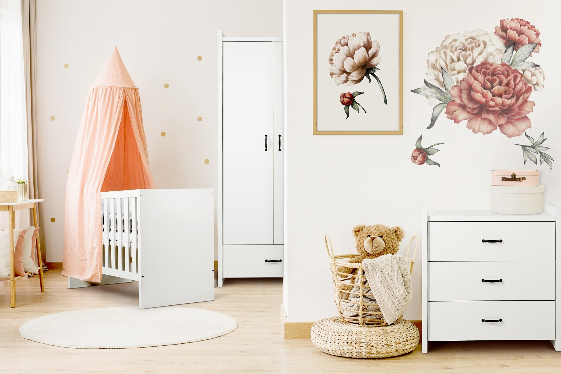 Dìtský pokoj Amélie bílá - zvìtšit obrázek