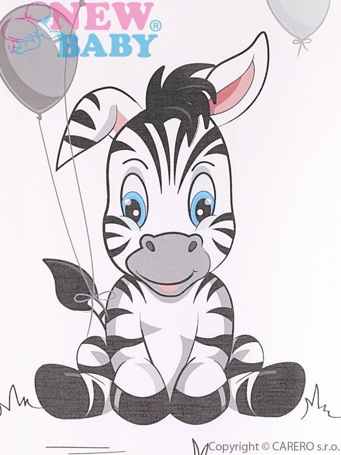 Pøebalovací podložka mìkká New Baby Zebra bílá 70x50 - zvìtšit obrázek