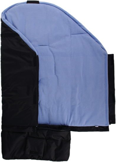 Fusak èerno-svìtlemodrý s fleece podšívkou - zvìtšit obrázek