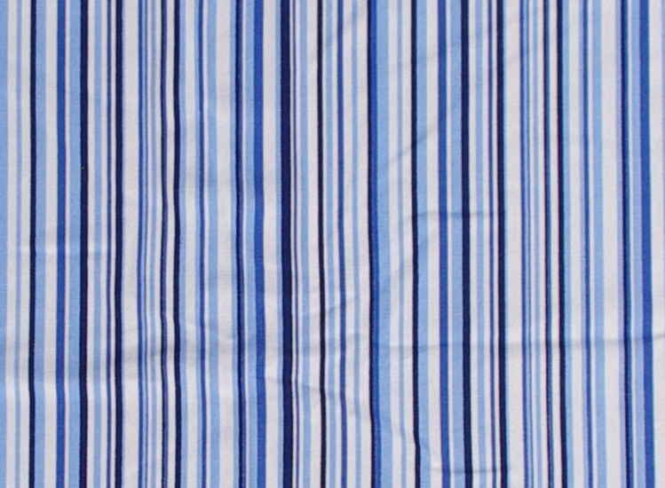 Bavlnìná letní deka modré proužky - zvìtšit obrázek
