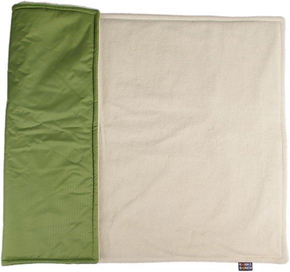 Zelená zimní deka biobavlna beránek - zvìtšit obrázek