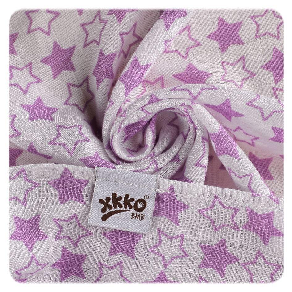 Bambusové pleny 70x70cm Little Stars Lilac MIX 3 ks - zvìtšit obrázek