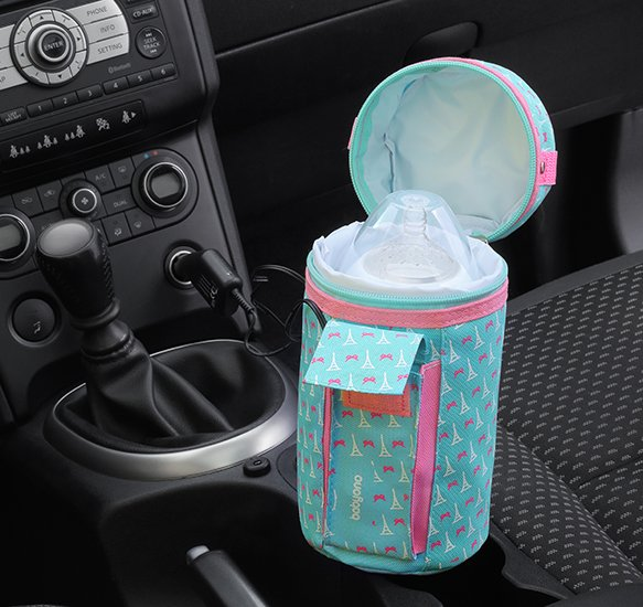 Cestovní ohøívaè lahví do auta na širokohrdlé lahve - zvìtšit obrázek
